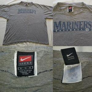 Vintage Nike Seattle Mariners MLB Baseball Swoosh